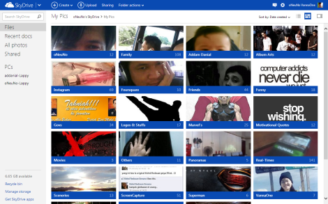 My SkyDrive Photos